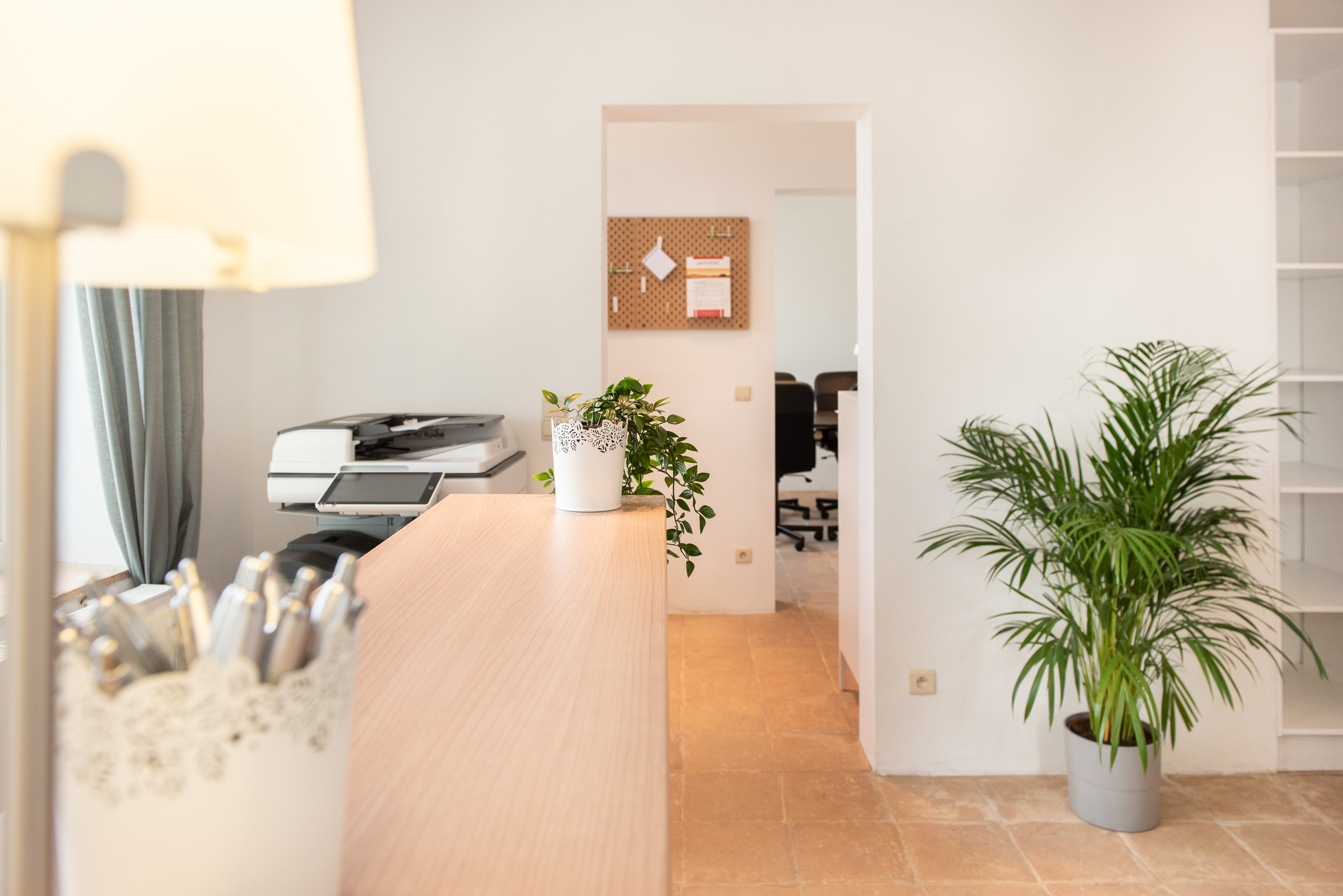Accueil coworking